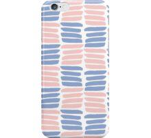 Art brush texture. Trendy colors iPhone Case/Skin