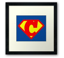 Super C Framed Print