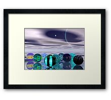 Lost Marbels Framed Print