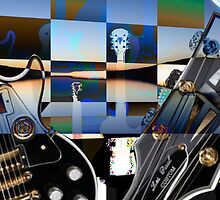 Guitars and Two Moons by Sarah Niebank