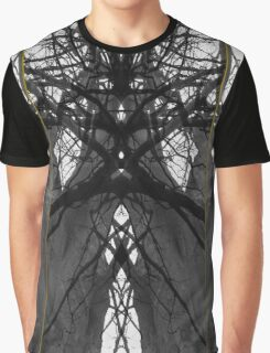 Tree Composition Graphic T-Shirt