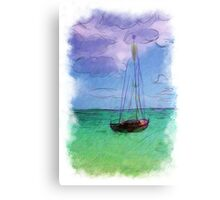 Lonely Boast Canvas Print