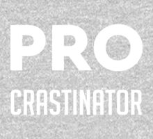 Procrastinator One Piece - Short Sleeve