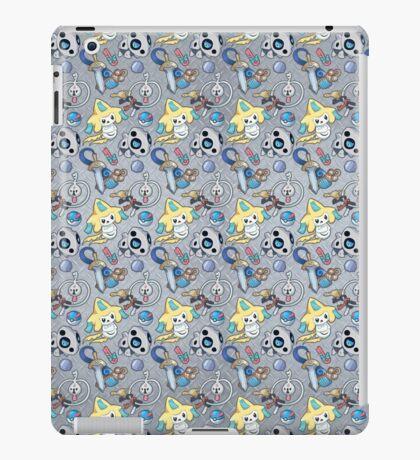 Steel Types - Pokemon - Patterned Metal iPad Case/Skin