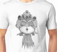 Nighttime Bird Unisex T-Shirt