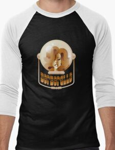 Barbarella (space helmet) Men's Baseball ¾ T-Shirt