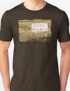 A Rancher's Sign T-Shirt
