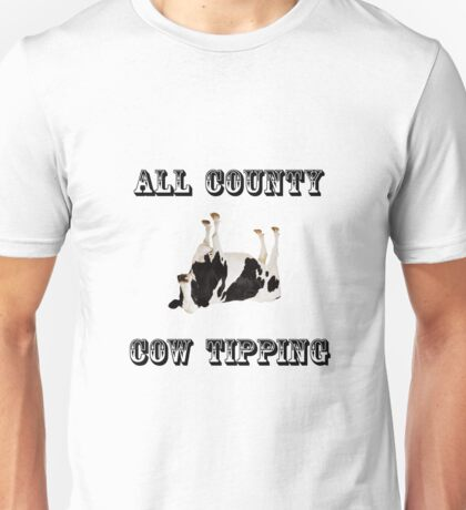 Cow Tipping Unisex T-Shirt