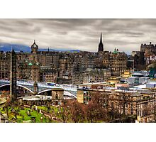 Grey Old Town Photographic Print