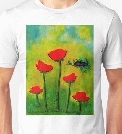 LIVE Creatively Unisex T-Shirt