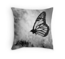 Luminous Wings Throw Pillow