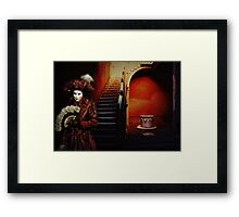 Red Carnival Framed Print