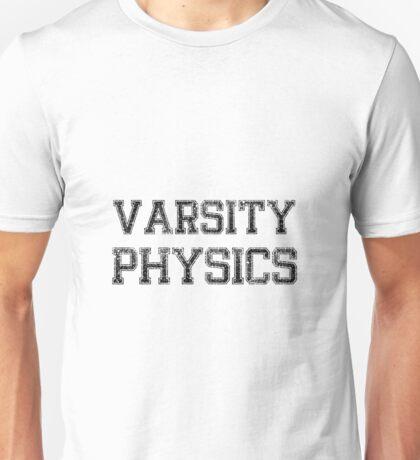 Varsity Physics Unisex T-Shirt