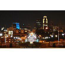 Des Moines Photographic Print
