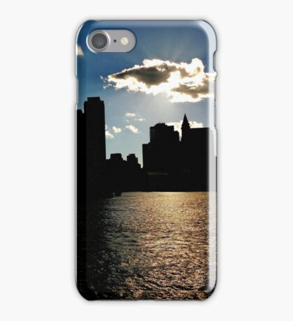Boston Harbor from the Ferry iPhone Case/Skin