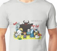 Undertale - Characters Drawing Unisex T-Shirt