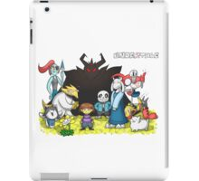Undertale - Characters Drawing iPad Case/Skin