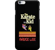 Karate Kid Bruce Lee Kung Fu iPhone Case/Skin