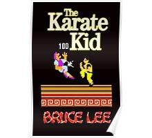Karate Kid Bruce Lee Kung Fu Poster