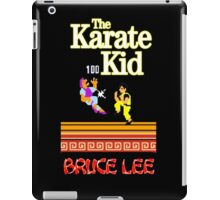 Karate Kid Bruce Lee Kung Fu iPad Case/Skin