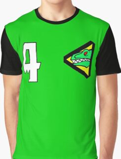 Dino Charge/Kyoryuger Green Graphic T-Shirt