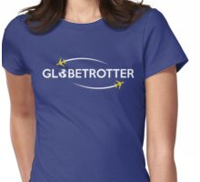 Globetrotter Traveler T Shirt Womens Fitted T-Shirt