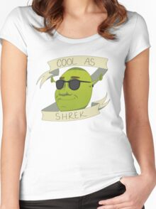 Cool As Shrek Women's Fitted Scoop T-Shirt