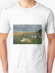 Mevagissey Outer Harbour Unisex T-Shirt