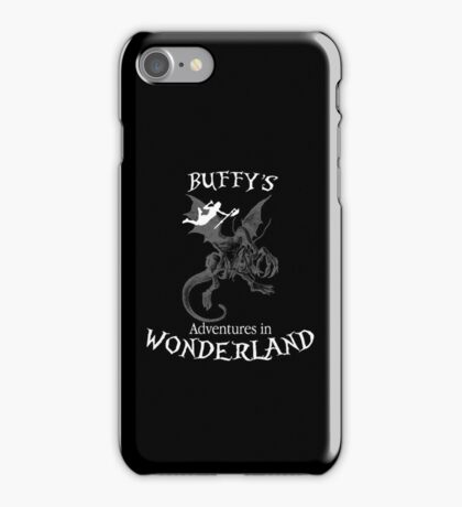 Buffy's  Adventures in Wonderland II iPhone Case/Skin