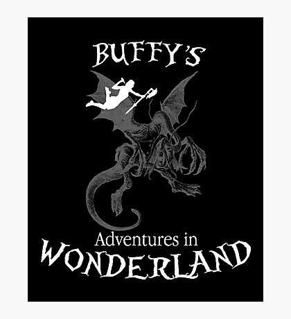 Buffy's  Adventures in Wonderland II Photographic Print