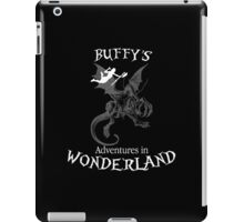 Buffy's  Adventures in Wonderland II iPad Case/Skin