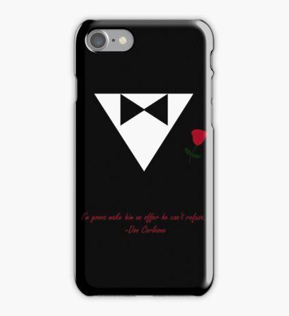 Don Vito Corleone Godfather Tuxedo Suit Design iPhone Case/Skin