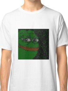 Rare Matrix PEPE meme Classic T-Shirt