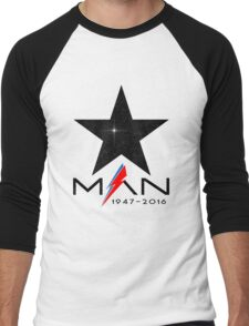 RIP Starman (David Bowie) 1947-2016 Men's Baseball ¾ T-Shirt