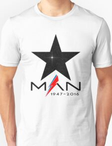 RIP Starman (David Bowie) 1947-2016 T-Shirt