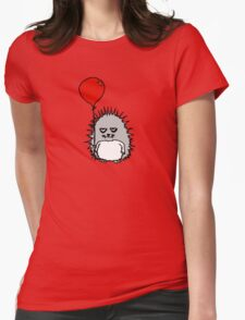 Happy Birthday Reggie T. Hedgie Womens Fitted T-Shirt