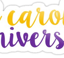 East Carolina University Sticker