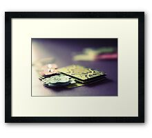 In relief ...  Framed Print