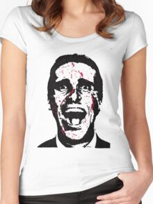 American Psycho - Patrick Bateman Women's Fitted Scoop T-Shirt