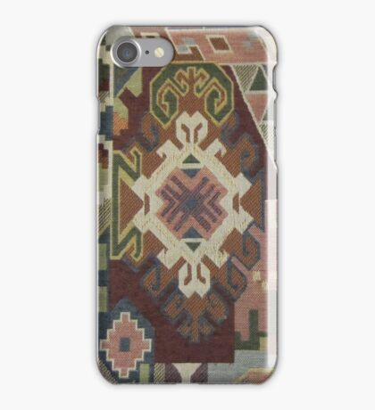 Geometric SouthWest Natural Colors Tapestry by Kirsten iPhone Case/Skin