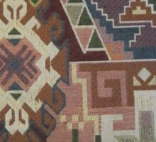 Geometric SouthWest Natural Colors Tapestry by Kirsten Sticker