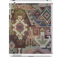 Geometric SouthWest Natural Colors Tapestry by Kirsten iPad Case/Skin