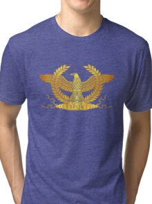 Roman Golden Eagle Tri-blend T-Shirt