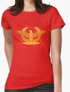 Roman Golden Eagle Womens Fitted T-Shirt