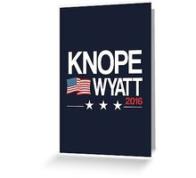 Knope Wyatt 2016 Greeting Card