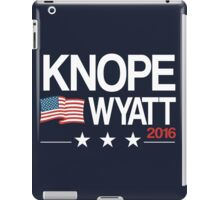 Knope Wyatt 2016 iPad Case/Skin