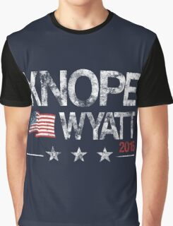 Knope Wyatt Distressed  Graphic T-Shirt