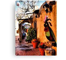 Enchanted Old Town Albuquerque Canvas Print