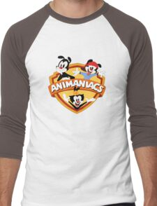 animaniacs logo Men's Baseball ¾ T-Shirt