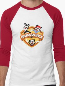 animaniacs logo Men's Baseball ¾ T-Shirt